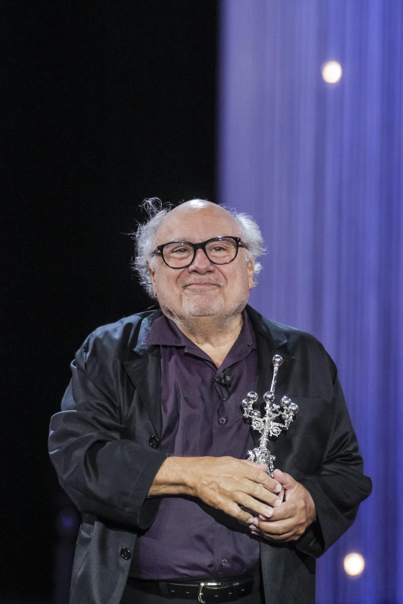 Story emerges behind bathroom shrine of Danny Devito