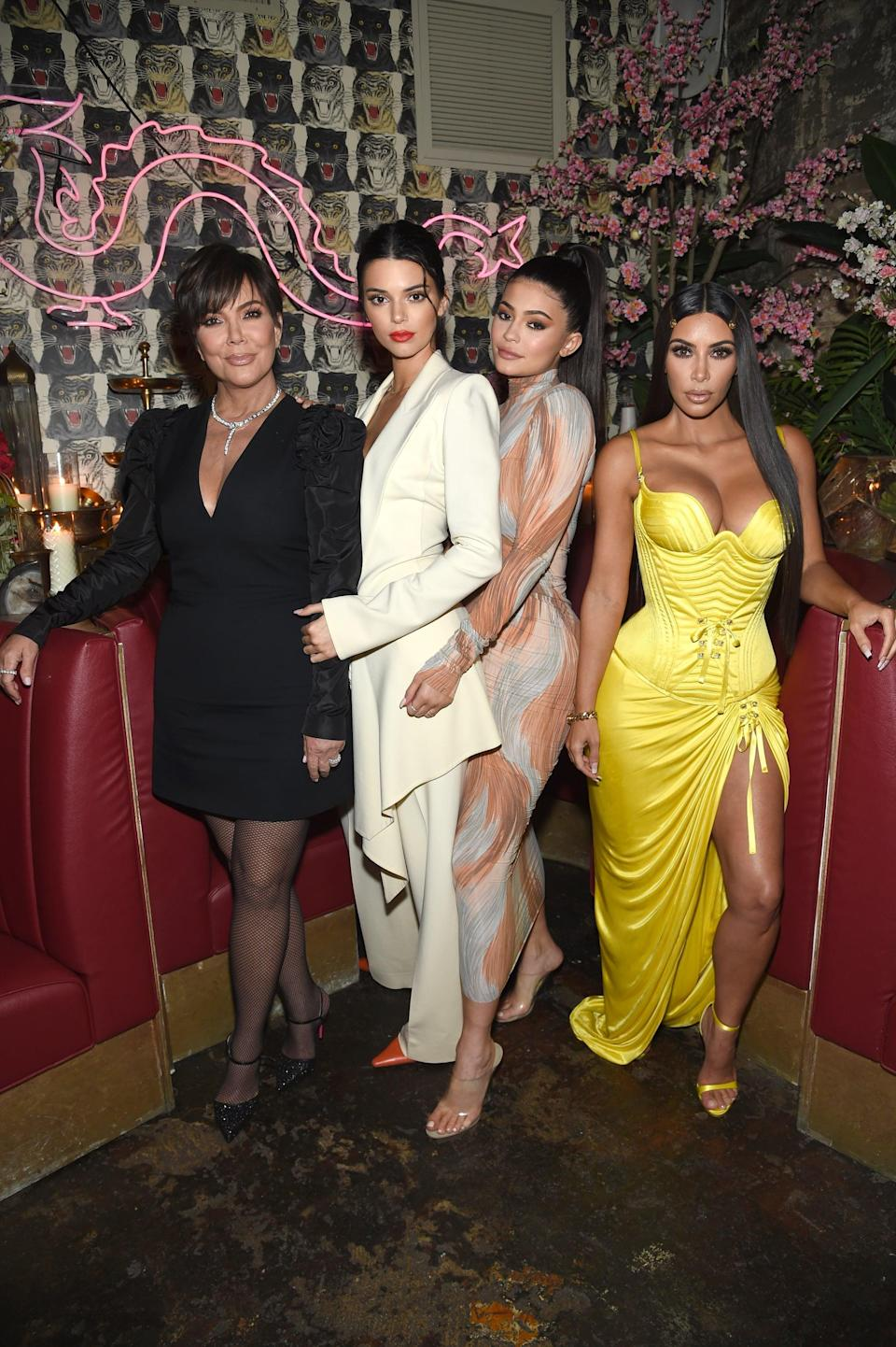 "<p>By 2018, each of the Kardashian/Jenners had carved out their own personal styles as you can see from this image at <strong>Business of Fashion</strong>'s ""Age of Influence"" party. </p>"