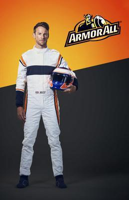 Armor All names Formula 1 Racing legend, Jenson Button, first-ever global brand ambassador. Photo credit: Robert Wilson. Photo used with permission.