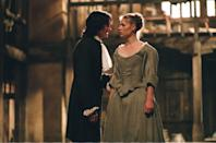 "<p>Maria (Claire Danes) is a costume designer, and longs to be an actor in a time when only men were permitted to act. Ned Kynaston (Billy Crudup) is renowned for playing Shakespeare's heroines. In this hidden gem of a movie, two ambitious people come together in love and art. <br></p><p><a class=""link rapid-noclick-resp"" href=""https://www.amazon.com/Stage-Beauty-Billy-Crudup/dp/B000RHLY7O?tag=syn-yahoo-20&ascsubtag=%5Bartid%7C10063.g.35089329%5Bsrc%7Cyahoo-us"" rel=""nofollow noopener"" target=""_blank"" data-ylk=""slk:Watch Now"">Watch Now</a></p>"