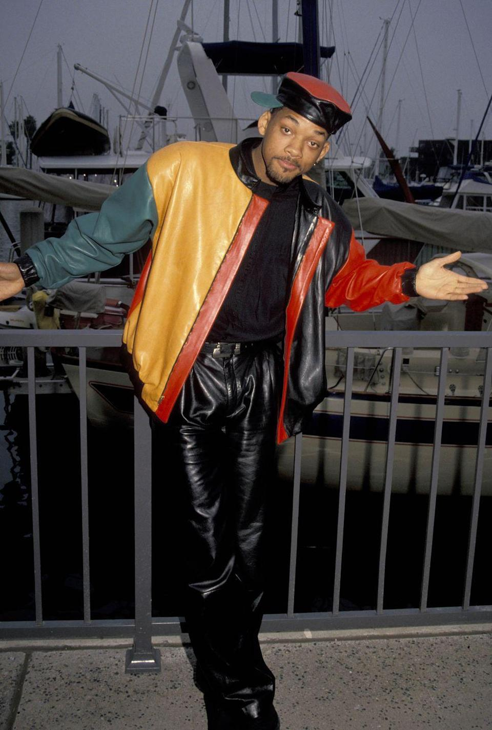 <p>Will Smith attending the NBC Press Tour - January 6, 1991.</p>
