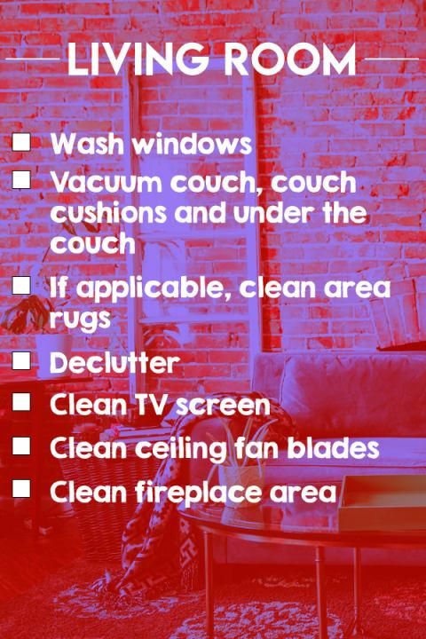 A Spring-Cleaning Checklist for Every Room in Your Home