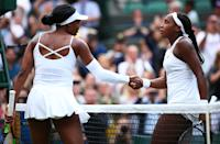 Gauff faced one of her idols Venus Williams at Wimbledon and came away with an astounding upset that secured an impressive first performance at iconic tournament. Gauff also became the first woman to win the first round at Wimbledon since 1991.