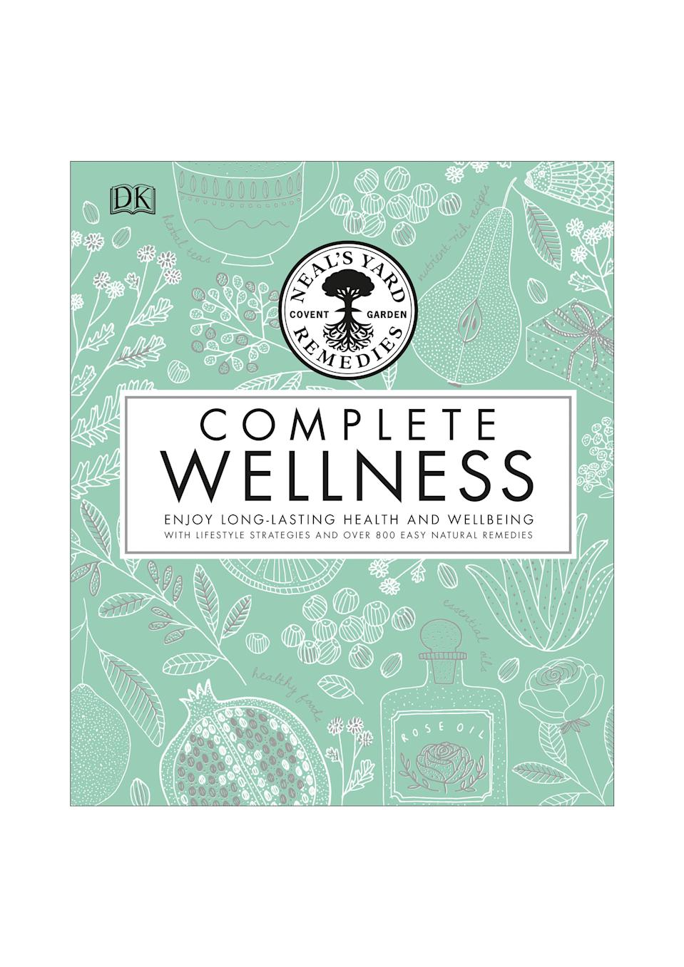 <p>Packed with 800 natural remedies for over 170 common ailments, the Complete Wellness book from Neals Yard Remedies will help you harness the restorative powers of herbs, essential oils, natural foods and holistic therapies to achieve whole body health and harmony. Ideal book shelf material. <em>Available 6 September. </em> </p>