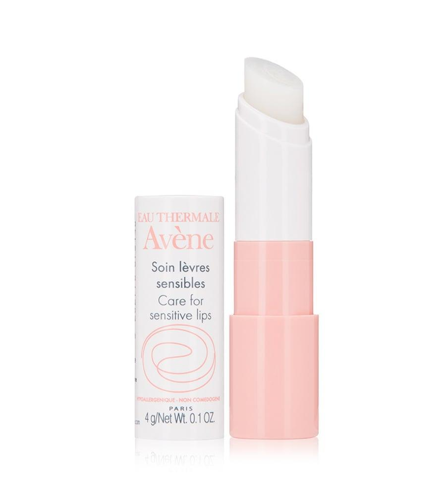 <p>This soothing <span>Avene Care For Sensitive Lips</span> ($14) is a gentle yet moisturizing balm that contains vitamin E and shea butter. </p>