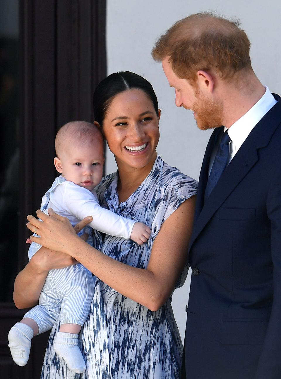 Harry has reportedly flown back to Canada to be reunited with Meghan and baby Archie(Getty Images)