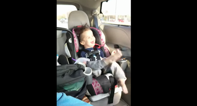 Four-year-old Gideon was born deaf and blind due to a peroxisomal biogenesis disorder. His parents frequently post online about the joys and difficulties that come with raising a child with special needs. (Photo: YouTube)