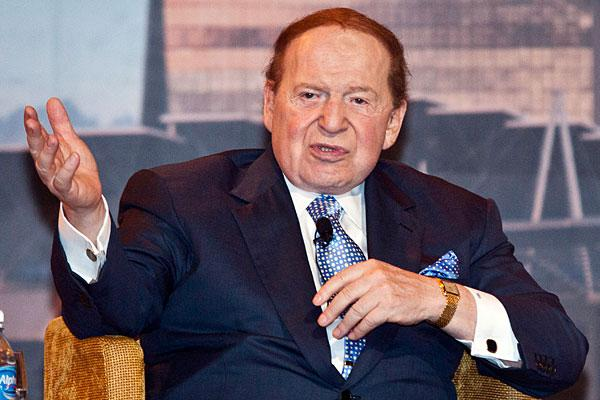 """<b>6. Sheldon Adelson, 78</b> <br>Company: Las Vegas Sands <br>Net worth: $24.6 billion <br>2010 compensation: $11,356,866 <br><br>Sheldon Adelson is the chairman and CEO of Las Vegas Sands, the most valuable publicly traded U.S. casino company. <br><br>Adelson rose from poverty in Boston and worked his way into the financial industry before developing one of the world's largest computer tradeshows — COMDEX in 1979. Ten years later, he bought the Sands Hotel & Casino in Las Vegas and constructed the Sands Expo and Convention Centre. In 1995, Adelson sold the COMDEX trade shows for <a href=""""https://ec.yimg.com/ec?url=http%3a%2f%2fwww.lasvegassands.com%2fLasVegasSands%2fCorporate_Overview%2fLeadership.aspx%26quot%3b%26gt%3bmore&t=1498544870&sig=9w0G5CUDr2sTu0aIlSVyuQ--~C than $860 million</a> and constructed the $1.5 billion Venetian Resort Hotel Casino. <br><br>Since then, he's expanded his empire globally, and now owns the Sands Macao and the Venetian Macao in southeastern China — a region now known as the world's biggest gaming centre. He also opened the Marina Bay Sands casino in Singapore. <br><br>Adelson's stake in Las Vegas Sands is estimated to be worth $14.8 billion. Other notable assets include his home in Newton, Massachusetts, valued at $4.9 million. <br><br>Adelson and wife, Miriam, are also known as keen supporters of U.S. presidential candidate Newt Gingrich, <a href=""""http://www.reuters.com/article/2012/02/28/us-usa-campaign-gingrich-adelson-idUSTRE81R1D720120228"""">donating nearly $11 million</a> to a political committee that supports Gingrich's campaign in January. The casino mogul has also signaled that he would write big checks to Republican candidate Mitt Romney if he wins the nomination."""