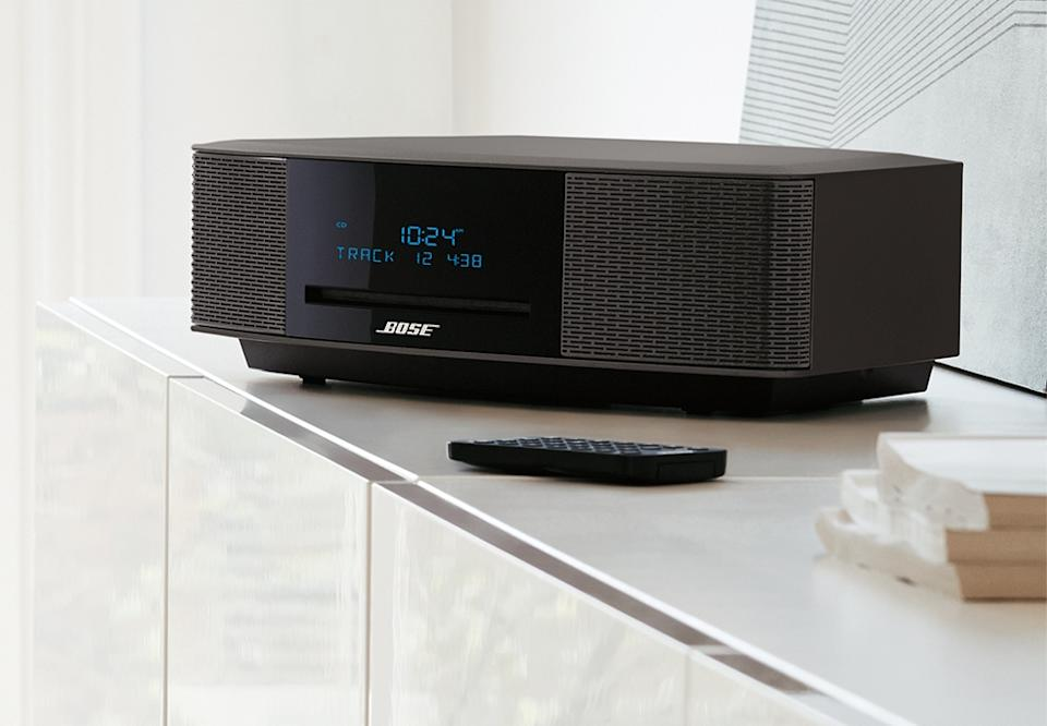 Music-delivery systems change, but the beauty and stylishness of a Bose unit is timeless. (Photo: Bose)
