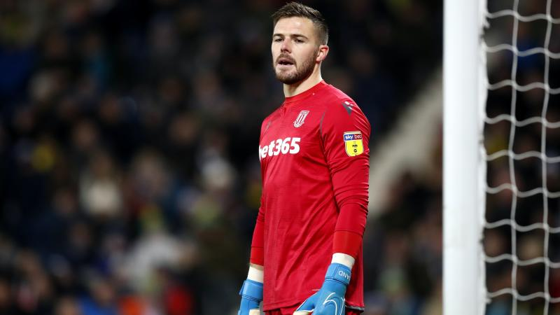 Goalkeeper Jack Butland joins Crystal Palace from Stoke