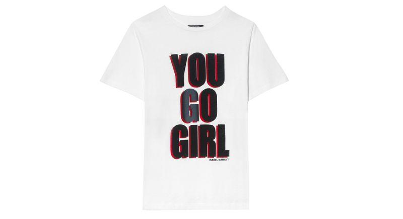 Isabel Marant T-Shirt zum Internationalen Frauentag