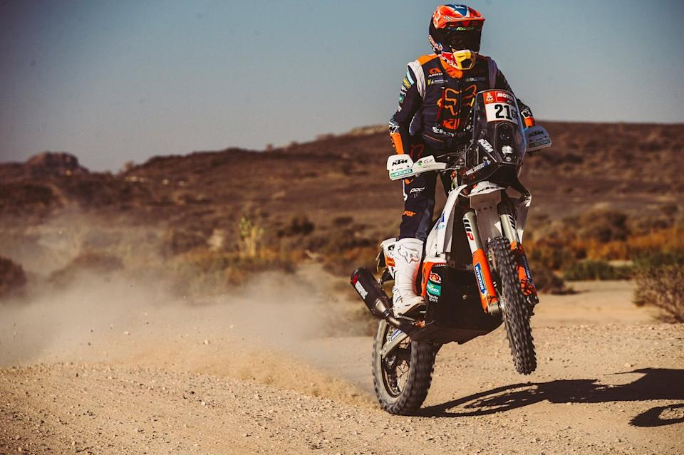 "#21 KTM Factory Team: Daniel Sanders<span class=""copyright"">Red Bull Content Pool</span>"