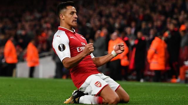 Manchester United's pursuit of Alexis Sanchez should soon come to a close after the Arsenal man appeared to be bound for the city.