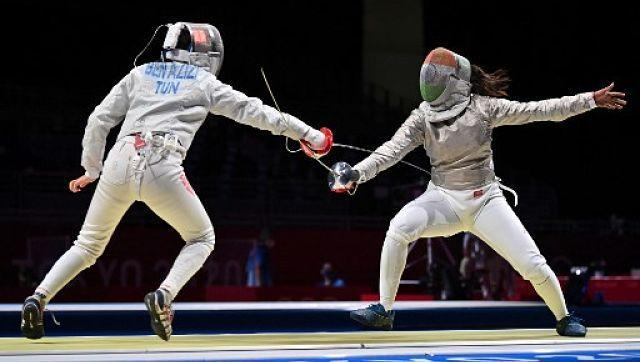 The Indian athletes' action on day three of the Tokyo Olympics 2020 began with fencer Bhavani Devi taking on Tunisia's Nadia Ben Azizi. While she outpowered the Tunisian 15-3 in the Women's Sabre Individual Table of 64, she went down fighting to France's Manon Brunet in the round that followed (7-15). AP