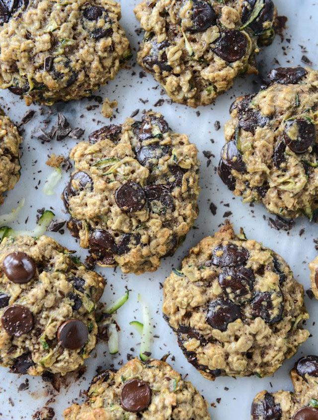 <strong>Get the <span>Chewy Oatmeal Zucchini Cookies recipe</span>from How Sweet It Is</strong>
