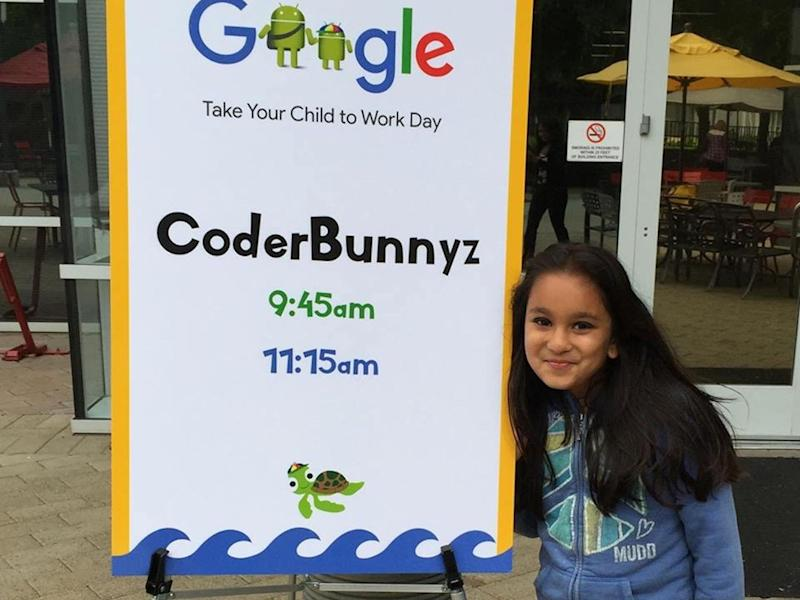 Samaira Mehta at Google