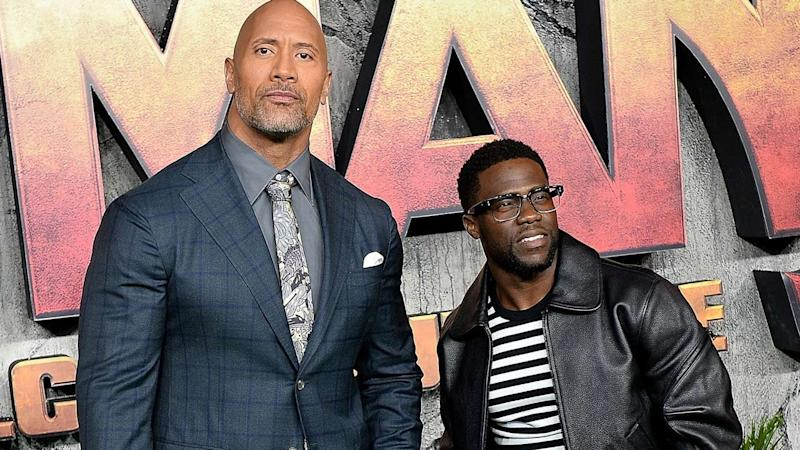 Dwayne Johnson Recalls the Moment He Heard About Kevin Hart's Car Accident: 'My Heart Stopped'