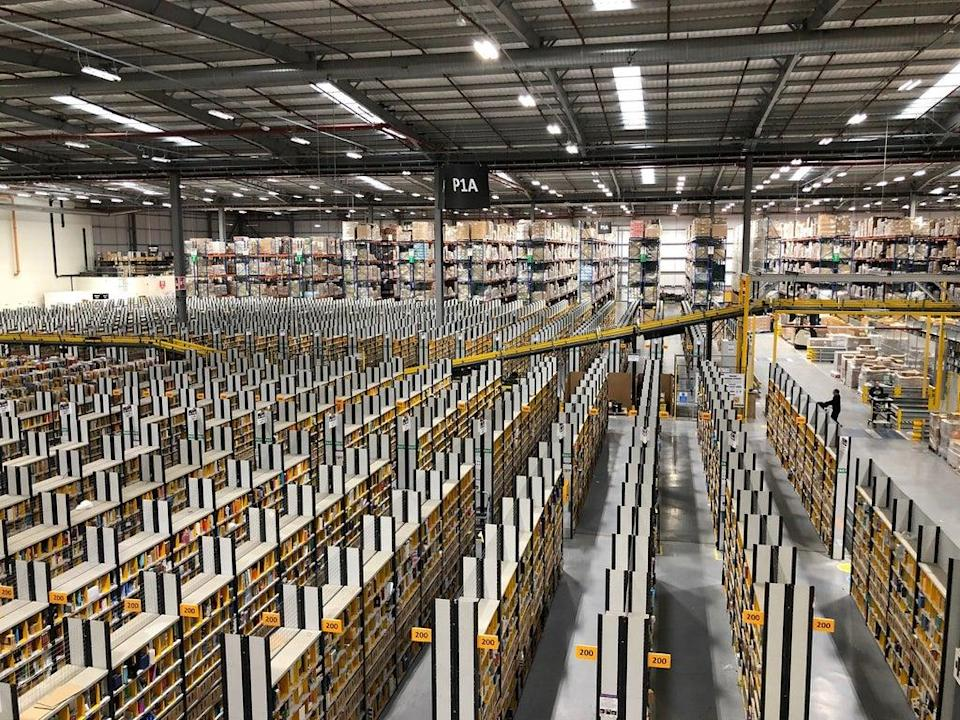 One of Amazon's existing warehouses  (PA Archive)