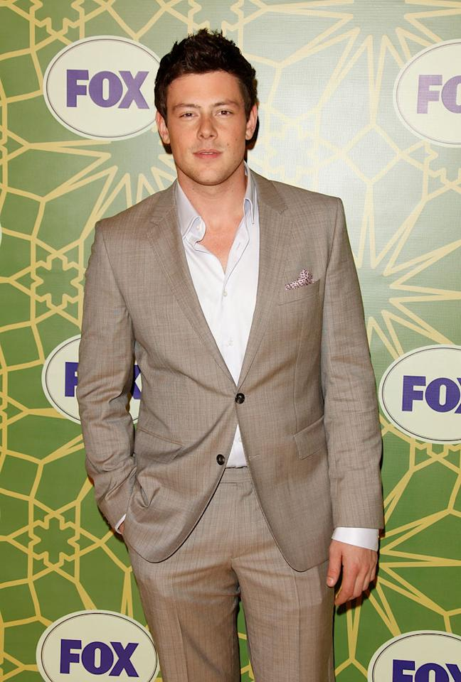 """<a href=""""/cory-monteith/contributor/1286853"""">Cory Monteith</a> (""""<a href=""""/glee/show/44113"""">Glee</a>"""") attends the 2012 Fox Winter TCA All-Star Party at Castle Green on January 8, 2012 in Pasadena, California."""