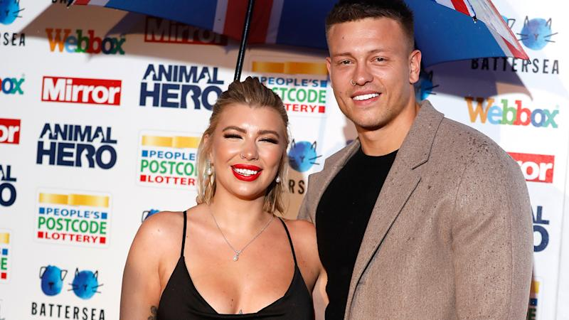 Olivia and Alex Bowen attend the Mirror Animal Hero Awards