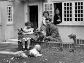 <p>King George VI and the Queen Mother taught their children, Princess Elizabeth and Princess Margaret, to love dogs from an early age.</p>