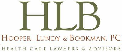 Founded in 1987, Hooper, Lundy & Bookman, PC, is the largest law firm in the country dedicated exclusively to the representation of health care providers and suppliers. With offices in Los Angeles, San Francisco, San Diego, Boston, Denver, and Washington, D.C., and clients in all 50 states, we are pleased to be ranked by Chambers as Tier One: Healthcare, California. For more information, please visit our website at www.health-law.com. (PRNewsfoto/Hooper, Lundy & Bookman)