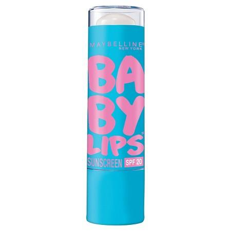 """<div>  This fairly new to the scene balm caught on quick with a formula that hydrates while providing a sheer wash of color.  Maybelline Baby Lips, $2.99; at <a rel=""""nofollow"""" href=""""http://www.target.com/p/maybelline-baby-lips-moisturizing-lip-balm-05-quenched/-/A-13521372?ref=tgt_adv_XS000000&AFID=google_pla_df&CPNG=PLA_Health+Beauty+Shopping&adgroup=SC_Health+Beauty&LID=700000001170770pgs&network=g&device=c&location=9031273&gclid=Cj0KEQiA9P7FBRCtoO33_LGUtPQBEiQAU_tBgN9J5equ-ceUoPY58VD_GtRlHut7f3Ss0V07-eSSiP0aAll38P8HAQ&gclsrc=aw.ds"""" rel="""""""">Target</a>  </div>"""