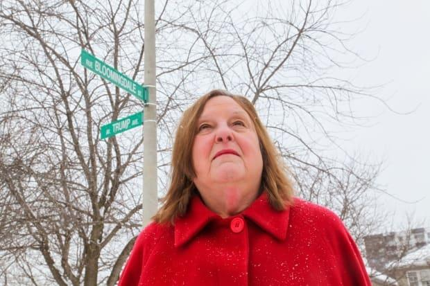 Bonnie Bowering, a Trump Avenue resident since 2008, told CBC she wants a new name for her street, but the campaign ultimately failed to gain enough support.