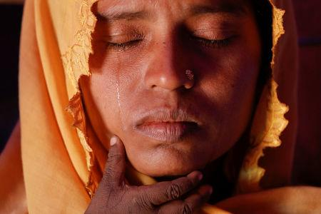 The Wider Image: Rohingya widows find safe haven in Bangladesh camp