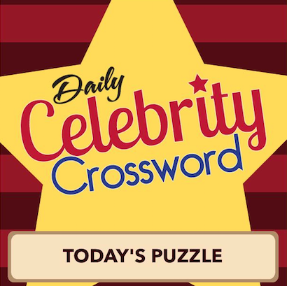 Daily Celebrity Crossword Logo