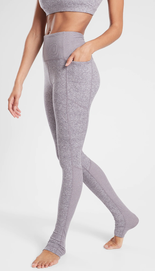 Athleta Exhale Stash Heel Tight