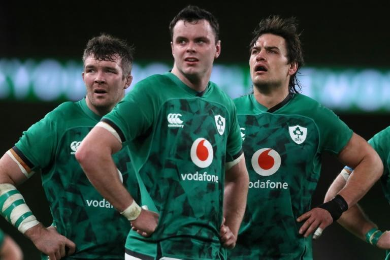 24-year-old James Ryan (centre) says he will be looking to older heads like Peter O'Mahony (left) to aid him when he captains Ireland in their Autumn Nations Cup clash with England at Twickenham