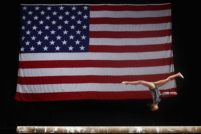 USA Gymnastics named former congresswoman Mary Bono as its interim president and CEO on Friday. (Getty Images)