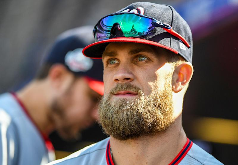 Giants show they are ready for star power with Bryce Harper