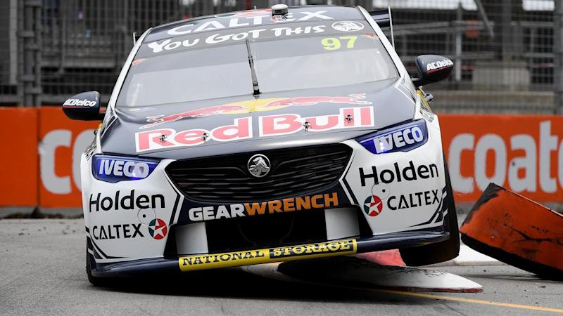 Supercars star Shane van Gisbergen will start from pole position in the Newcastle 500