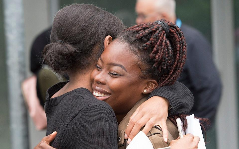 A-level Results, City and Islington College, August 2019