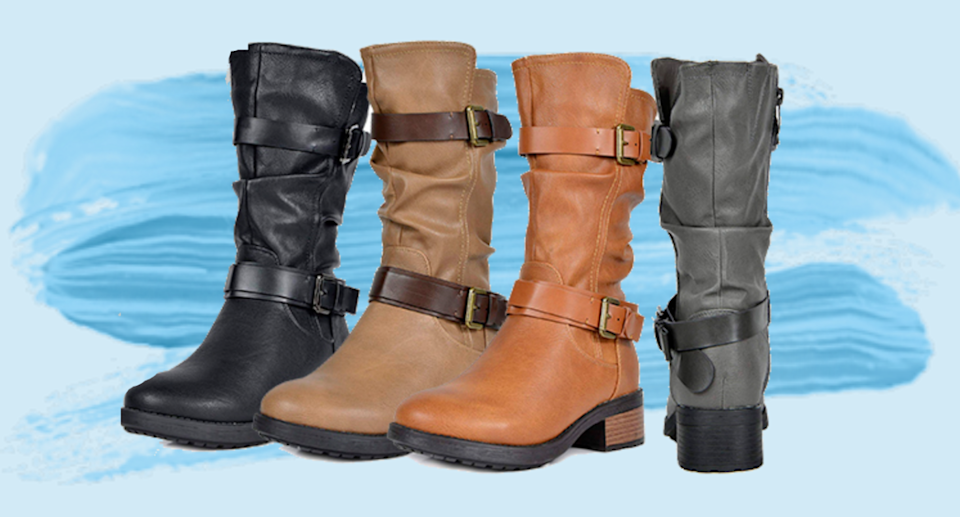 Dream Pairs Women's Faux Fur Riding Boots are a must-have for fall.