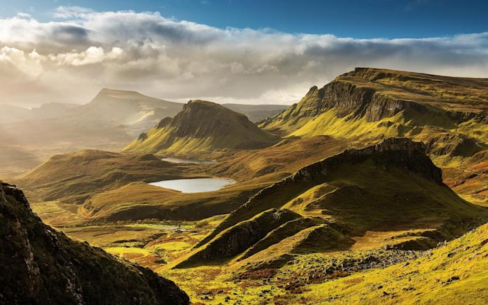 The Isle of Skye, in the Hebrides, could be one of Scots' few overseas travel options this half term - Getty