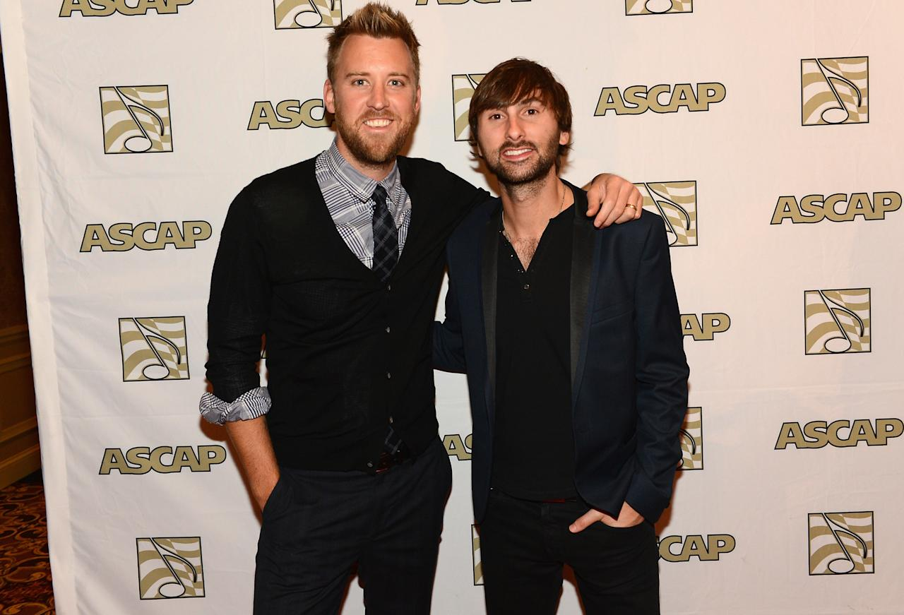 Charles Kelly and Dave Haywood of Lady Antebellum 50th Annual ASCAP Country Music Awards    Nashville, TN