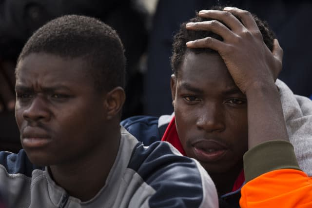 Migrants Crossing From North Africa Transit To Europe