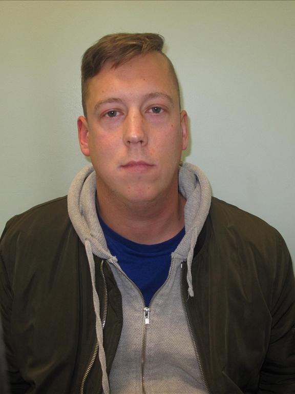 Found guilty: Billy Cowcher has been convicted over violence at Selhurst Park (Met Police)