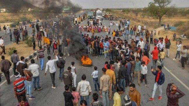 Gehlot has sent Tourism Minister Vishvendra Singh to negotiate with Gujjar leader Kirori Singh Bainsla on the rail track where the agitation has been taking place.