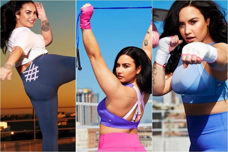 Demi Lovato's new Fabletics collection will help support workers fighting coronavirus