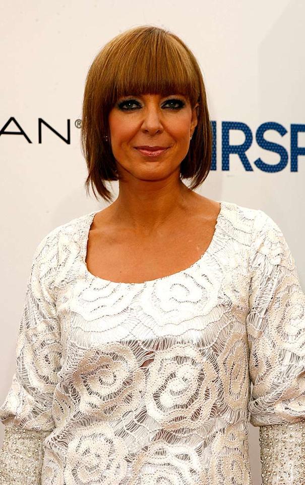 "Emmy winner Allison Janney (""The West Wing"") unsuccessfully attempts the infamous Posh Spice bob in a tawny tint. Jeff Vespa/<a href=""http://www.wireimage.com"" target=""new"">WireImage.com</a> - July 10, 2007"