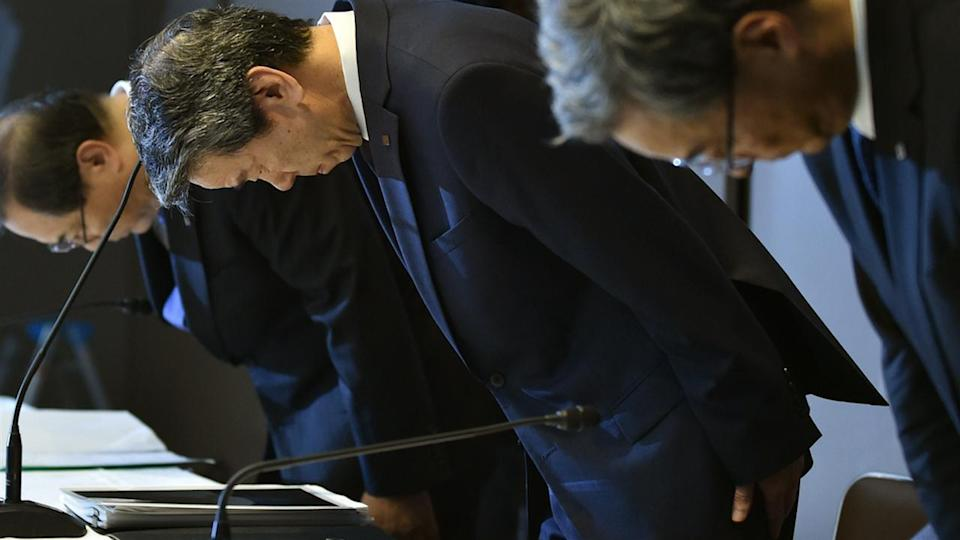 Toshiba CEO quits over accounting scandal