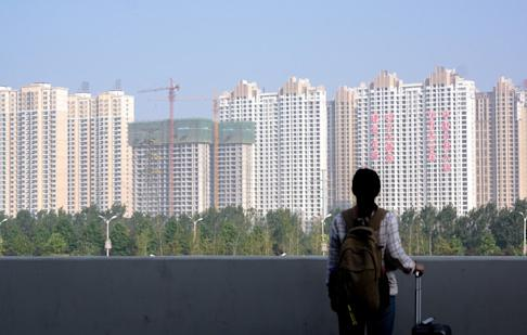 For households in China, real estate accounts for 70 per cent of family wealth, while net growth in property assets accounts for 91 per cent of household per capita growth, according to a report by the China Economic Trends Research Institute in October. Photo: Getty Images