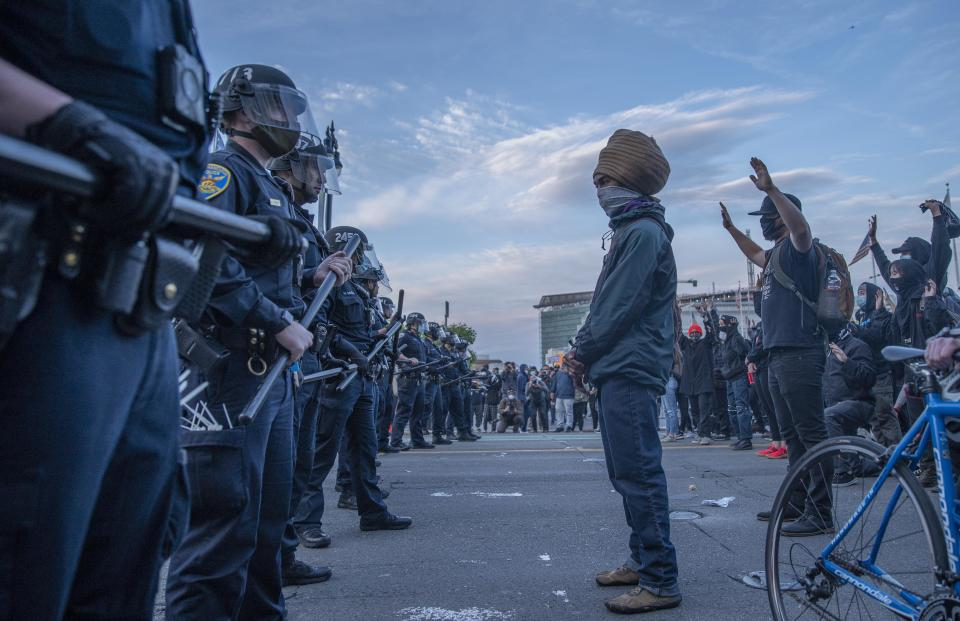 worldwide protests and furthered the Black Lives Matter movement