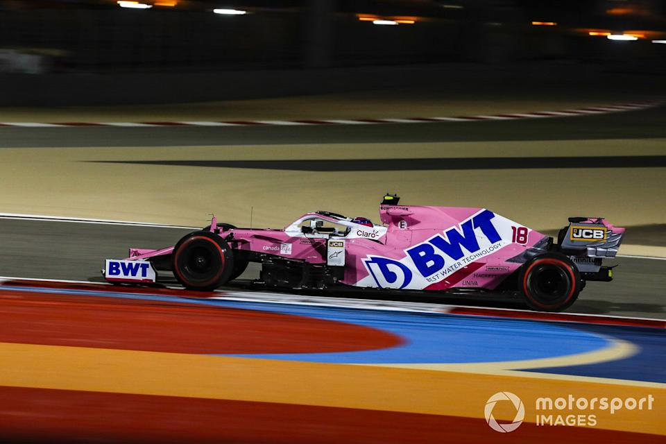 """Lance Stroll, Racing Point RP20<span class=""""copyright"""">Charles Coates / Motorsport Images</span>"""