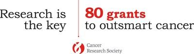 Research is the key – 80 grants to outsmart cancer (CNW Group/Cancer Research Society)