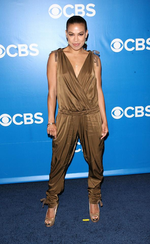 """Toni Trucks (""""Baby Big Shot"""") attends CBS's 2012 Upfront Presentation on May 16, 2012 in New York City."""